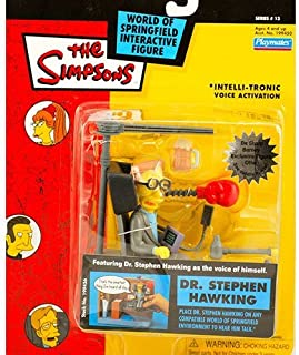 Simpsons Dr. Stephen Hawking action figure by Playmates Toys