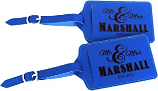 cute luggage tags personalized