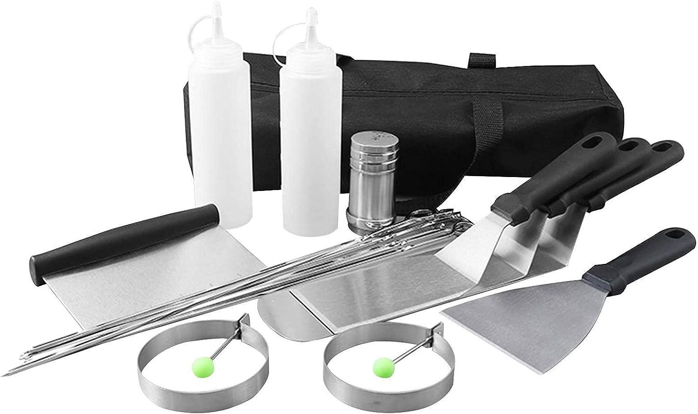 BBQ Los Angeles Mall Grill Accessories Set 17PCS Brand Cheap Sale Venue Kit Tool Tools St