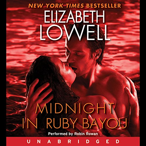 Midnight in Ruby Bayou audiobook cover art