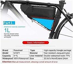 Bike Storage Bag Waterproof Fiets Bag Triangle opslag Voorframe Tube Bag Cycling stevig indrukken Fietsaccessoires for Cyc...