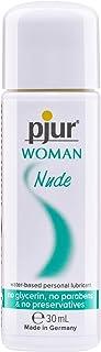 pjur WOMAN Nude - Naturlig vattenbaserad glidgel - inga konserveringsmedel & parabener - speciellt för kvinnor (30ml)