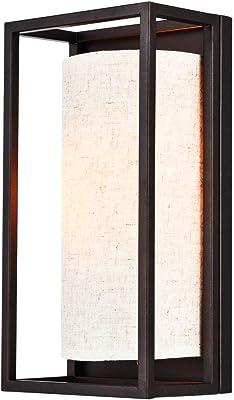 Restaurante Lightess Apliques de Pared Interior 350/° Giratorio y 90/° Ajustable L/ámpara de Pared Negro Luz de Metal Industrial Minimalista Iluminaci/ón E27 para Dormitorio Sin Bombilla Cocina Bar
