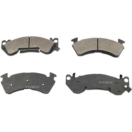 DuraGo BP634 MS Semi-Metallic Front Brake Pad