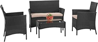 PayLessHere Patio Furniture 4 Pieces Outdoor Indoor Use...