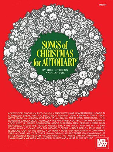 Songs of Christmas for Autoharp (English Edition)