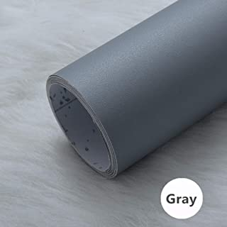 practicalWs Self-Adhesive Grey Wallpaper Contact Paper Wallpaper Wall Pattern for Living Room TV Wall Store Backdrops Thick Wallpaper PVC DIY Decorative roll 15.7