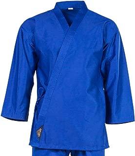 Tiger Claw 7.5 Oz Karate Uniform Light Weight Blue Top Only