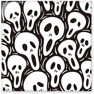 Skull Tiling Pattern Halloween Ceramic Bisque Tiles Bathroom Decor Kitchen Ceramic Tiles Wall Tiles