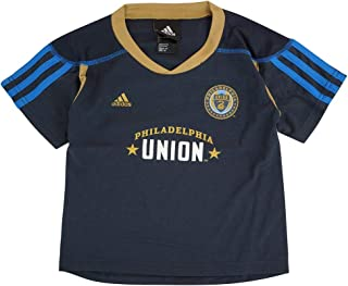 Outerstuff Philadelphia Union Adidas MLS Toddler Home Call Up Navy Blue Soccer Jersey