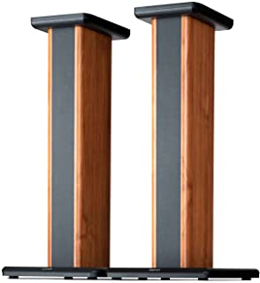 Edifier SS02 25.6 inch Wood Grain Speaker Stands for S1000DB / S2000PRO/ S1000MKII Hollowed Stands for Optional Sand Filli...