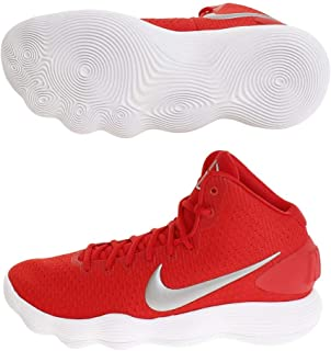 Nike Men's Hyperdunk 2017 TB Basketball Shoe University Red/Metallic Silver/White Size 14 M US