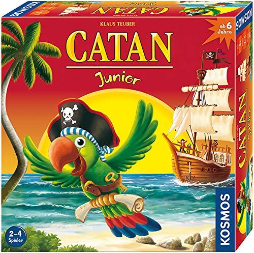 KOSMOS 697495 - CATAN Junior, Strategiespiel für Kinder ab 6 Jahre