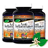(Pack of 3) All-Natural Anti-Inflammatory Essential Synergy Women's Support Formula by Moms for Nutrition - with a Proprietary Blend of 12 Herbs, Enzymes and Botanicals