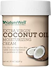 Sponsored Ad - NatureWell Extra Virgin Coconut Oil Moisturizing Cream for Face & Body, 16 oz. | Adds Intensive Hydration t...