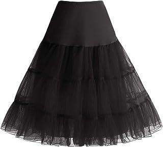 03e80d8f89e Bbonlinedress Jupon Femme Style année 50 Jupon Rockabilly 4 Tailles à  Choisir