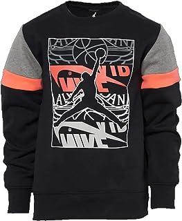 Nike Air Jordan Boys' Crew Neck Fleece Sweater…