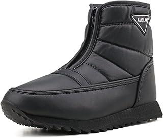 [Shenji] レディースブーツ ショートブーツ スノーブーツ 撥水加工 PU