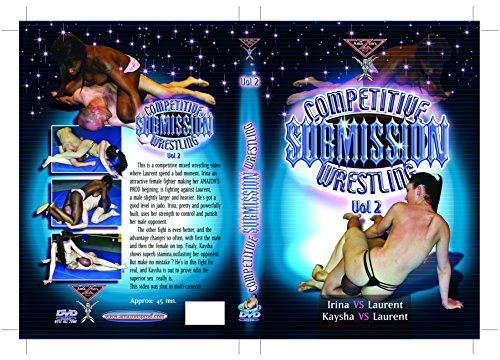 French topless mixed wrestling - Competitive submission wrestling vol.2 (Female vs Male) DVD Amazon's Prod