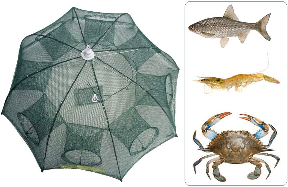 Okngr Folded Fishing Net Fish Folding Online limited product Some reservation Automatic Shr
