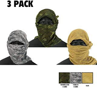 Zephyr Tactical Mesh Sniper Veil Desert Shemagh