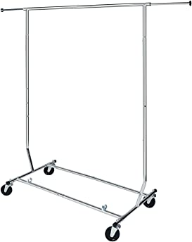Explore collapsible racks for clothes