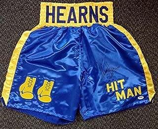 thomas hearns boxing memorabilia