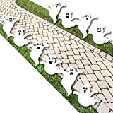 Big Dot of Happiness Spooky Ghost - Ghost Shape Lawn Decoration Signs - Outdoor HalloweenYard Decorations - 10 Piece