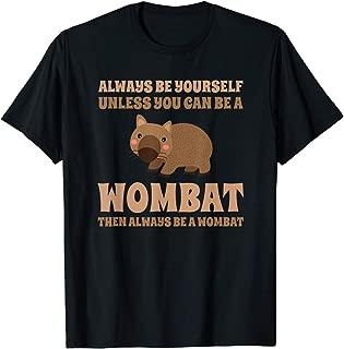 WUMINGXX Wombat Australian Animal Tee Marsupial Funny Australia T-Shirt