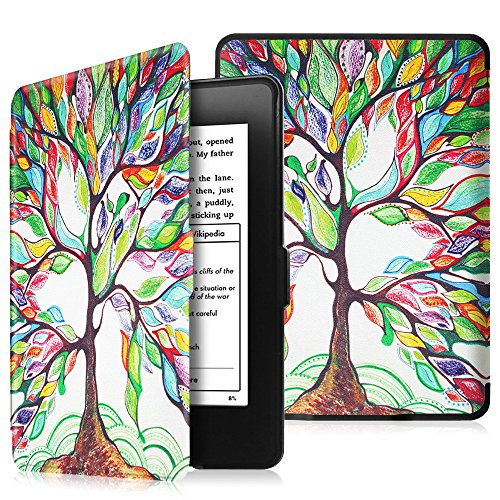 Fintie SlimShell Funda para Kindle Paperwhite - La Más