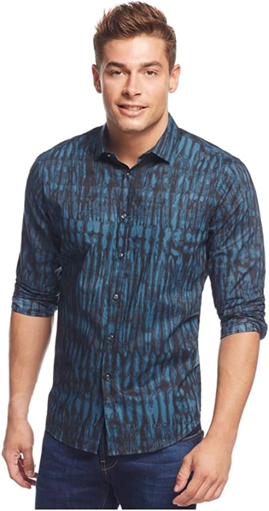 I-N-C Mens Stanley Ls Button Up Shirt