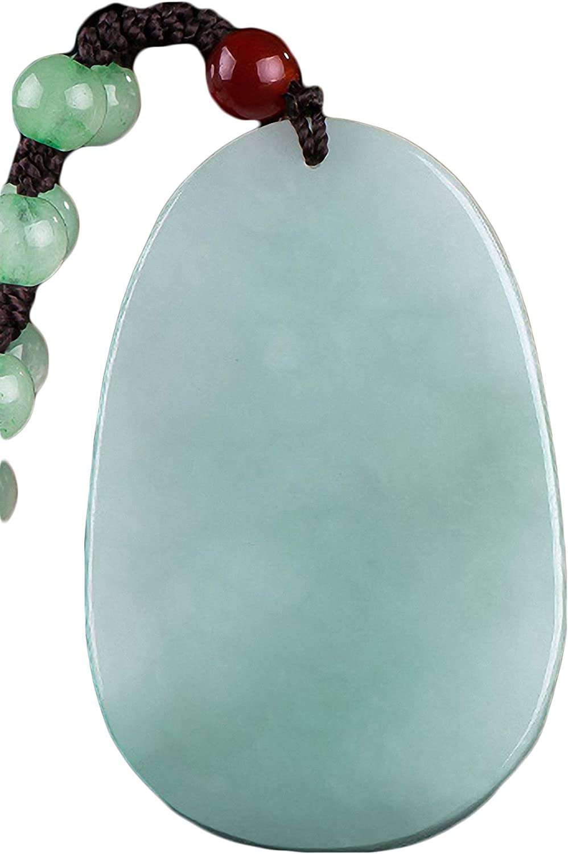 Natural Jade A Jadeite Zodiac Protector Deity Amulet Pendant