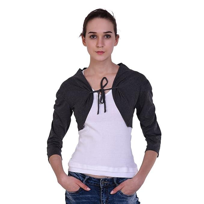 Teemoods Women\'s Cotton Stylish and Fashionable Short Shrug, Summer Shrugs for Women