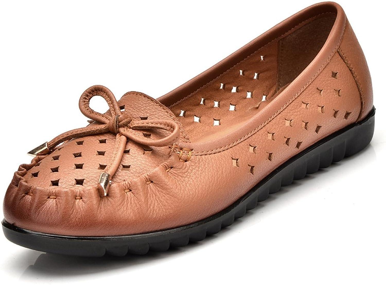 Mutter im Sommerschuhe Alte gepiercte Sandale Schwangere niedrigem Absatz