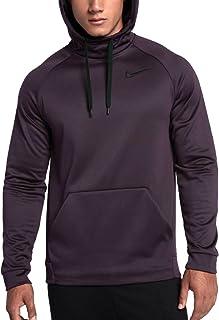 99bdadfc Nike Men's Therma Training Hoodie Port Wine Black 826671 652