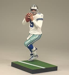 Tony ROMO #9 Dallas Cowboys White Jersey Uniform McFarlane NFL Series 24 Action Figure