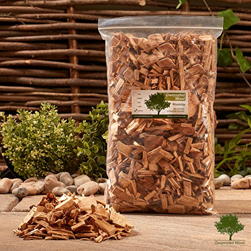 Smoking/Smoker Wood Chips 3 Litre - Kiln Dried Woodchips for Smoking Food/Smokers/BBQ's/Ovens/Smoking tins - Fast