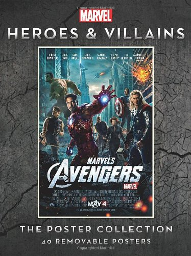 Marvel Heroes and Villains Poster Collection