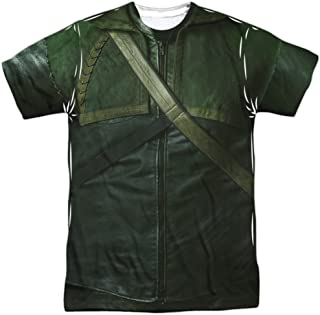 Costume -- CW's Arrow TV Show All-Over Front/Back T-Shirt