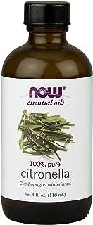 Now Foods Citronella Oil, 4.0 oz