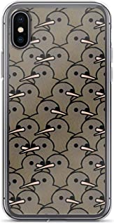 RobertsShop Too Many Birds! - New Zealand Kiwi Case Cover Compatible for iPhone (7/8)
