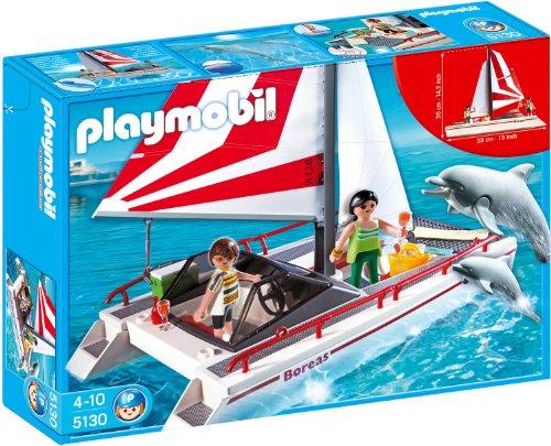 PLAYMOBIL 5130 - Katamaran mit Delfinen
