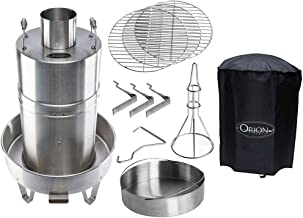 Orion Cooker Outdoor Convection Steam Cooker Barbecue Smoker + Heavy Duty Cover