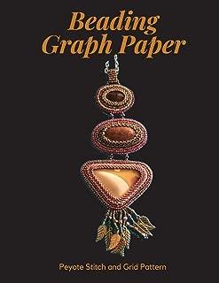 Beading Graph Paper - Peyote Stitch and Grid Pattern: 8.5 x 11