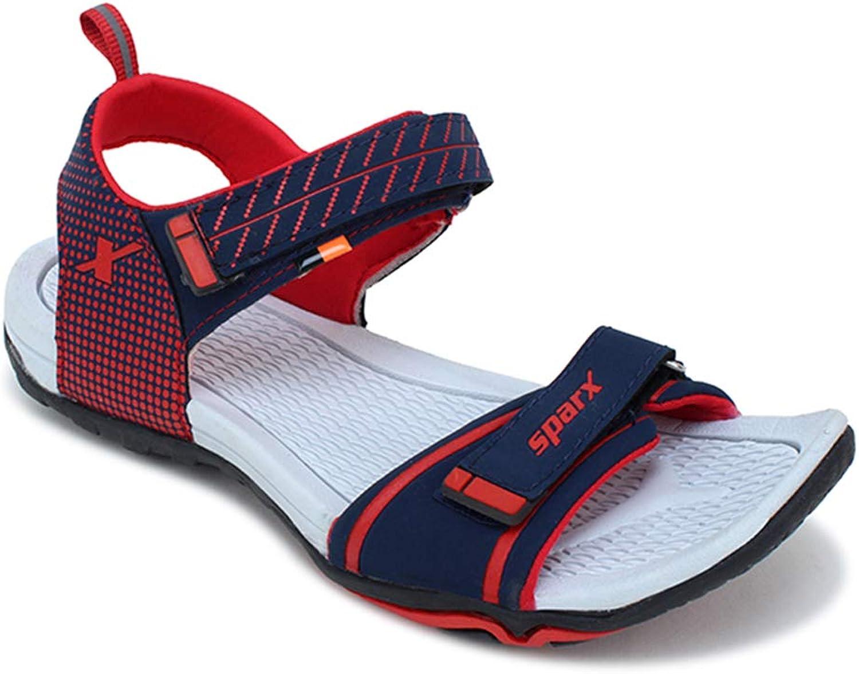 SPARX Women Navy bluee Red Sports Sandal
