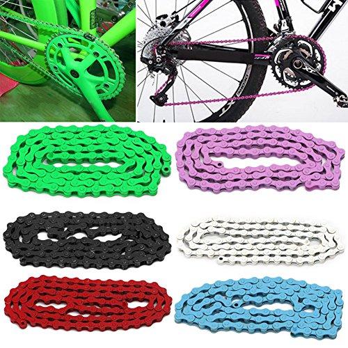 Dairyshop, 1/2x 1/8Zoll Verbindungen, 96-multicolor Single Speed Fahrrad Kette, Mountainbike, Herren, grün