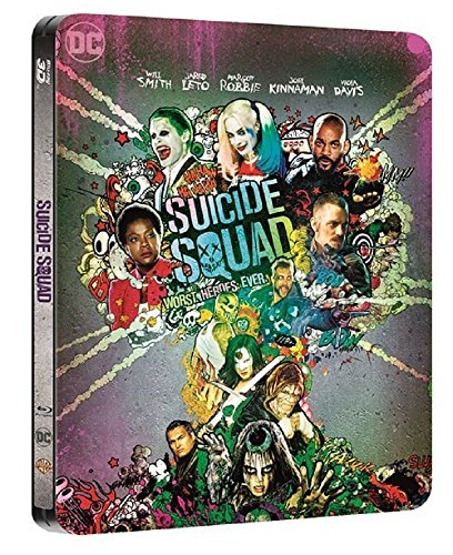 Suicide Squad Steelbook UK Limited Edition Steelbook includes 2D and 3D with extended cut Region Free