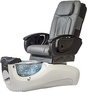 Continuum Bravo VE Pedicure Spa - Slate Seat/Smoke Bowl/Diamond White Base