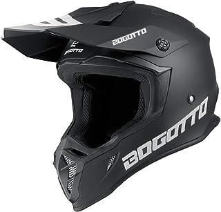 Bogotto V332 Motocross Helm Schwarz Matt M