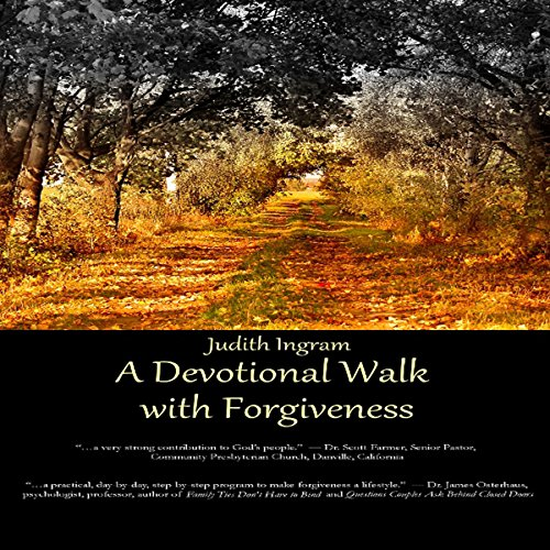 A Devotional Walk with Forgiveness audiobook cover art